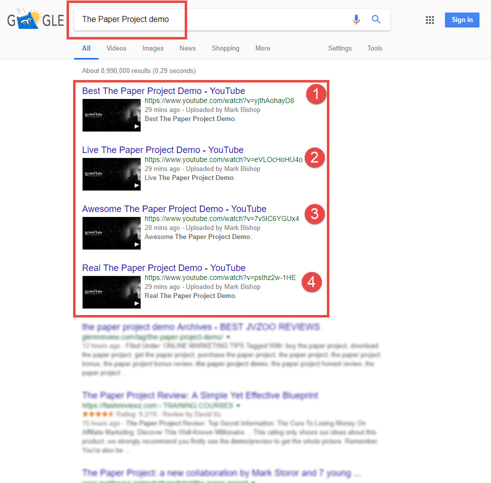 How to rank on google page 1 in minutes