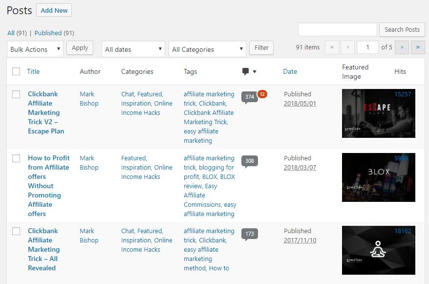 91 Blog Posts